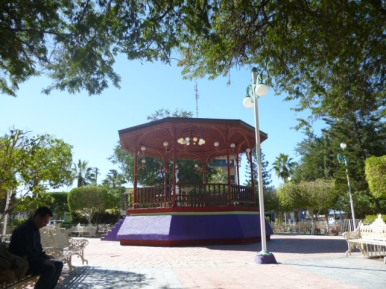 Central bandstand